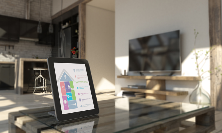 Smart Home Control With Tablet